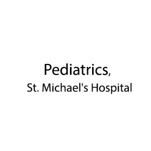 Pediatrics, St. Michael's Hospital